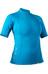 NRS W's HydroSkin 0.5 S/S Shirt Azure Blue